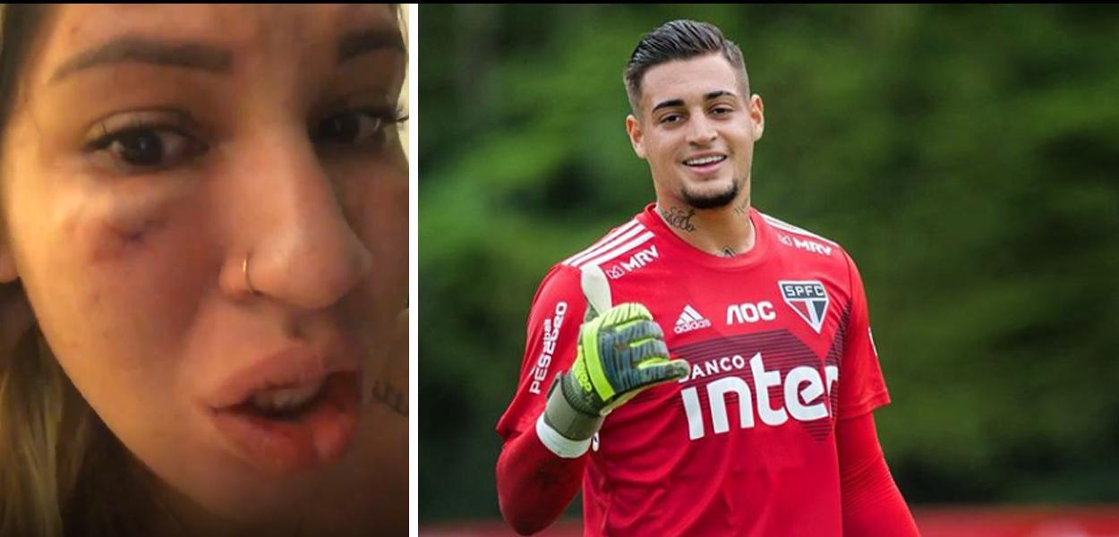 Esposa acusa goleiro do São Paulo, Jean, de agressão