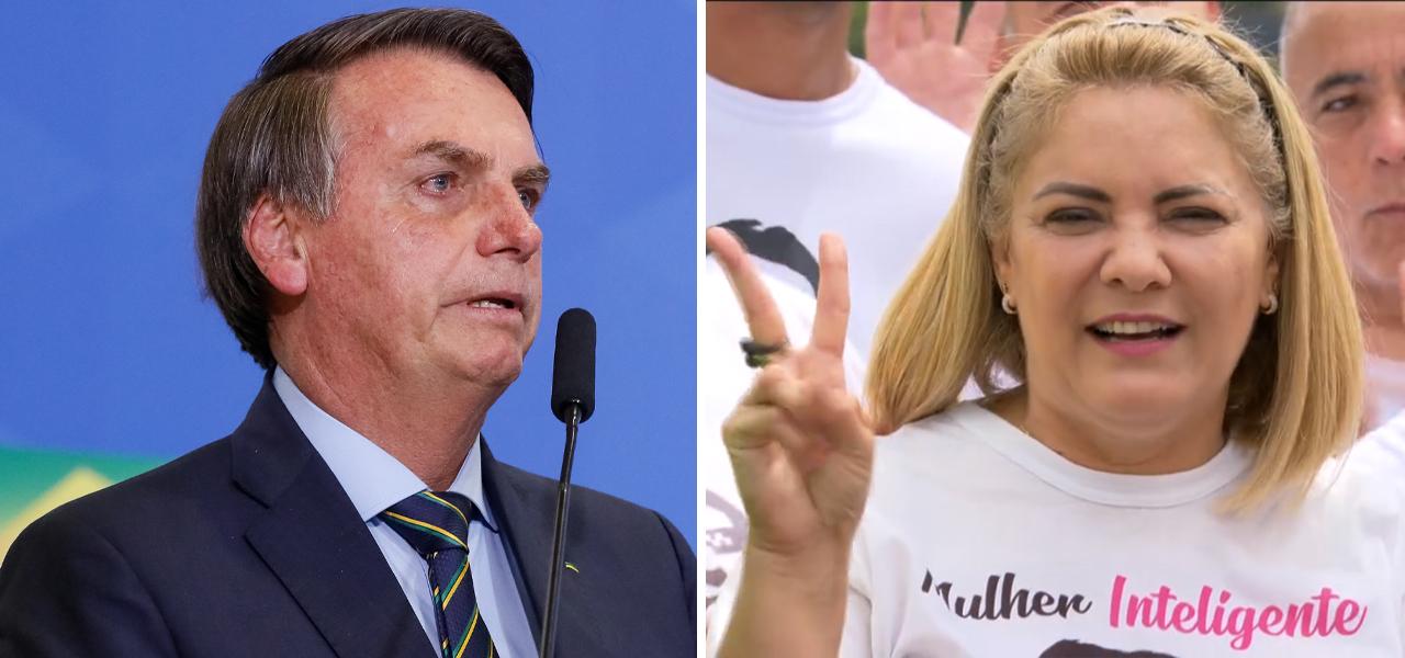 Jair Bolsonaro e Ana Cristina Siqueira Valle