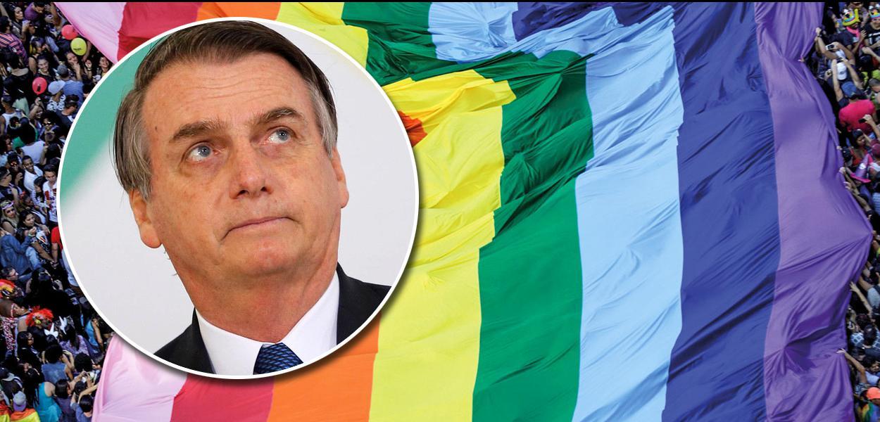 Bolsonaro Bandeira Gay LGBT