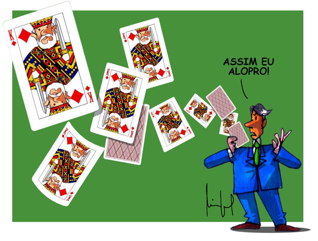 Miguel Paiva: Carta fora do baralho