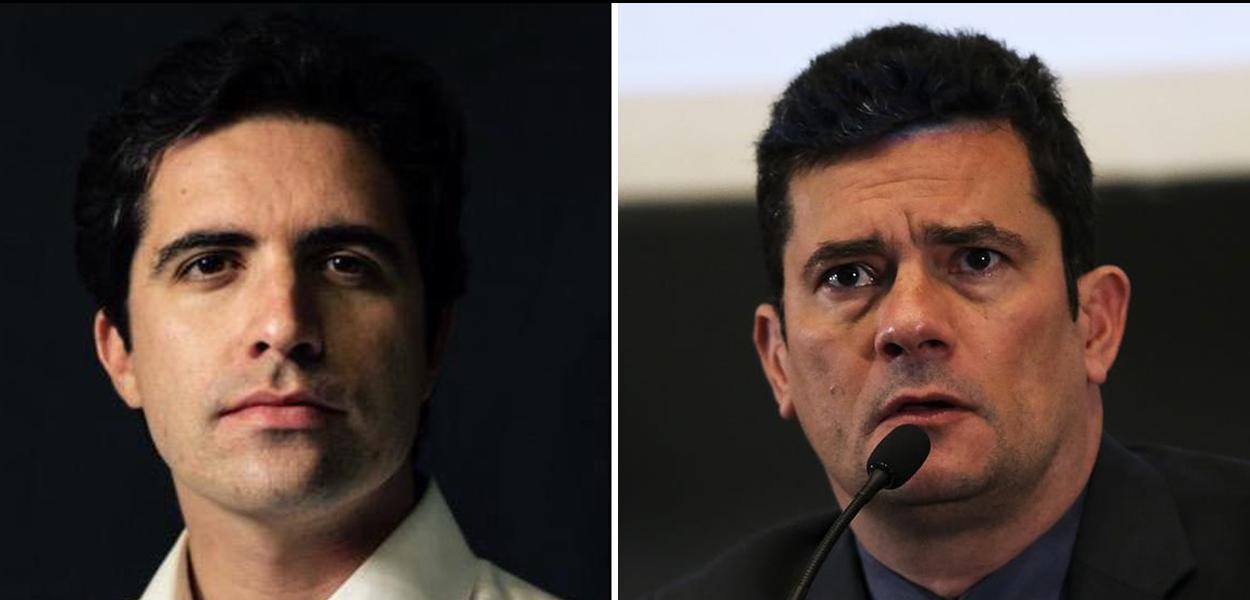 Bernardo Mello Franco e Sergio Moro