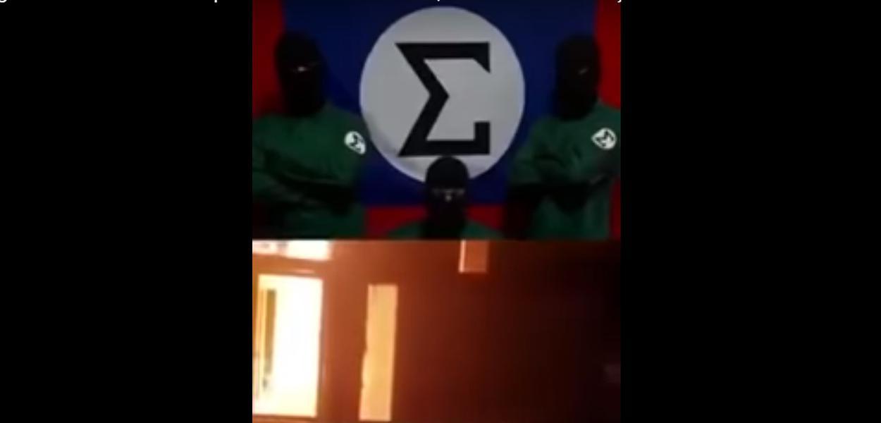 Vídeo de supostos integralistas
