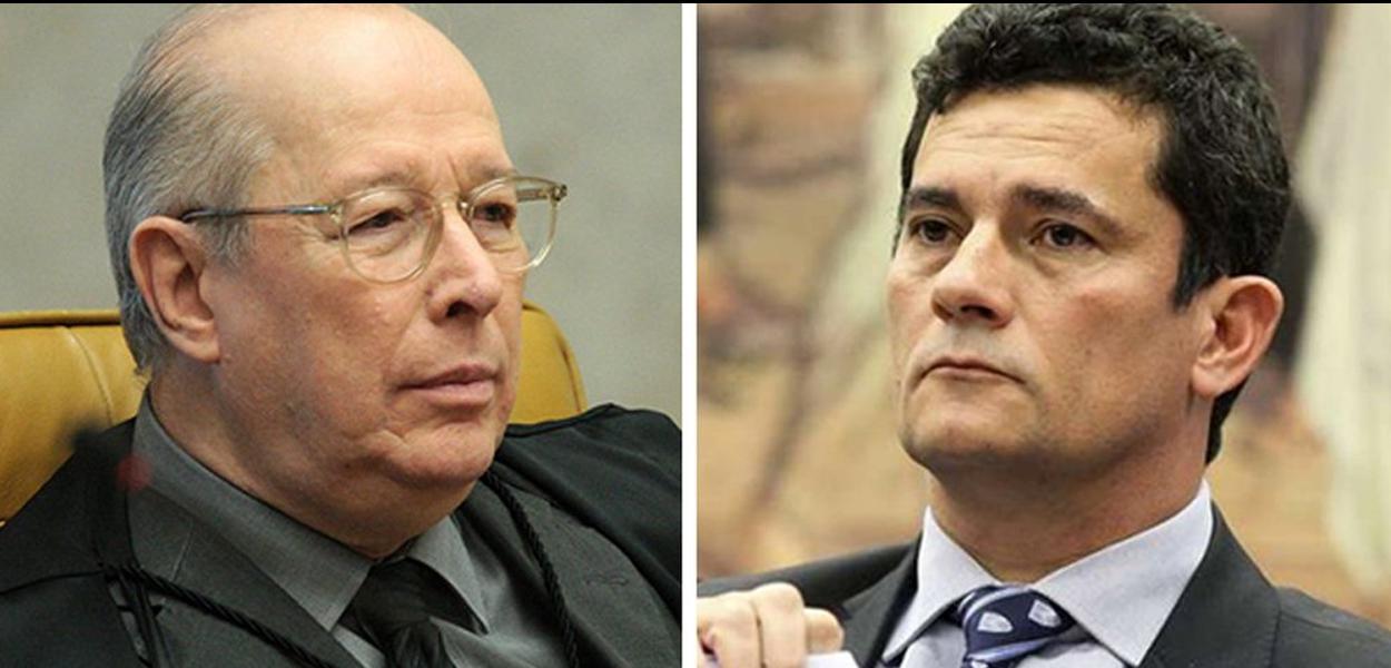 Celso de Mello e Sergio Moro