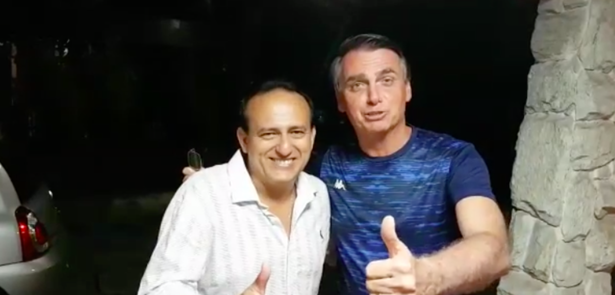 Bolsonaro e Tutuca