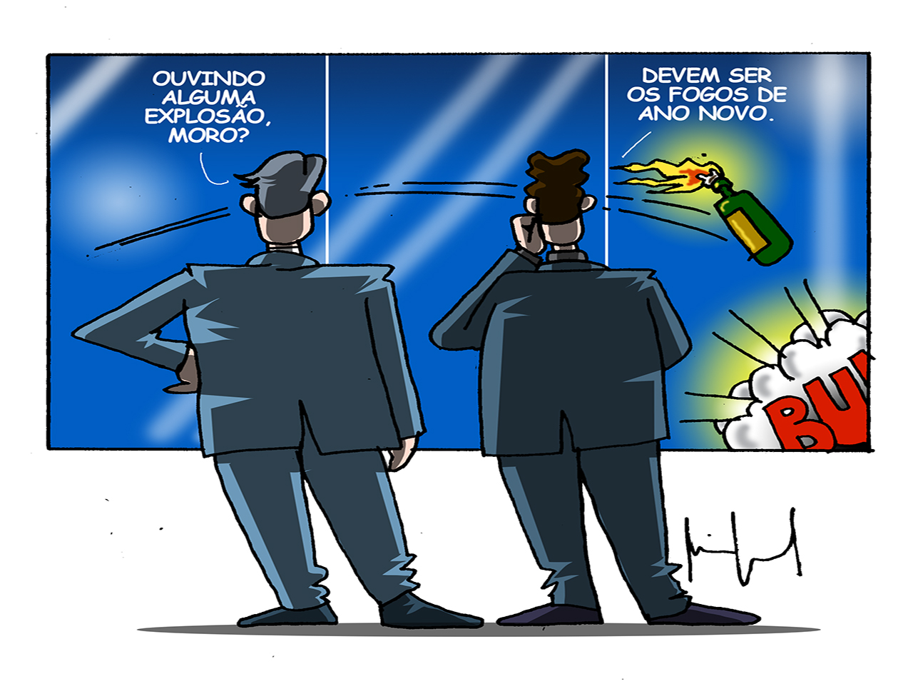 charge Miguel Paiva