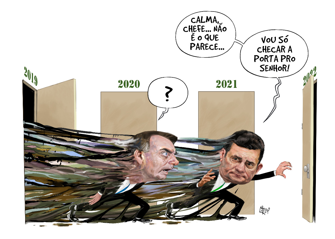 Bolsonaro x Moro - Renato Aroeira - Brasil 247