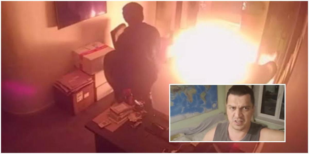 Suspeito de ser autor de ataque ao Porta dos Fundos, Eduardo Fauzi