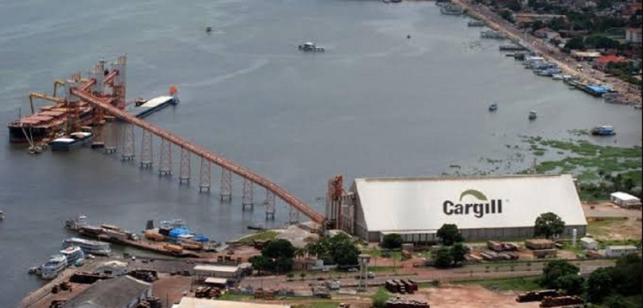 Terminal da Cargill em Santarém
