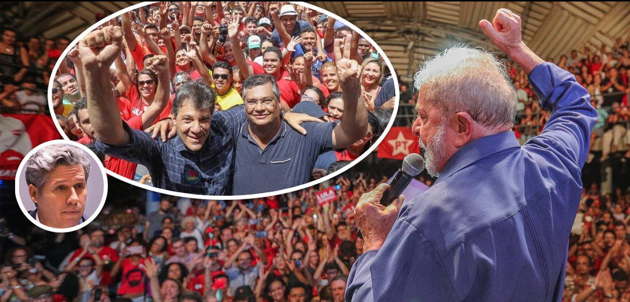 Paulo Teixeira, Fernando Haddad, Flávio Dino e Lula