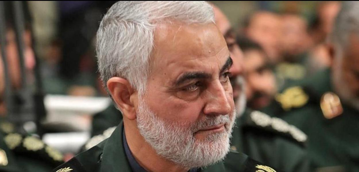 O general iraniano Qassem Soleimani, morto a mando do governo dos EUA