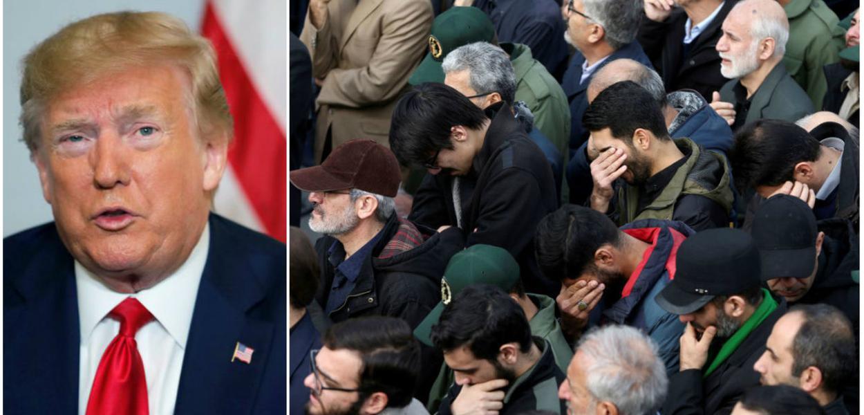 Trump ordenou assassinato de militares iranianos e iraquianos