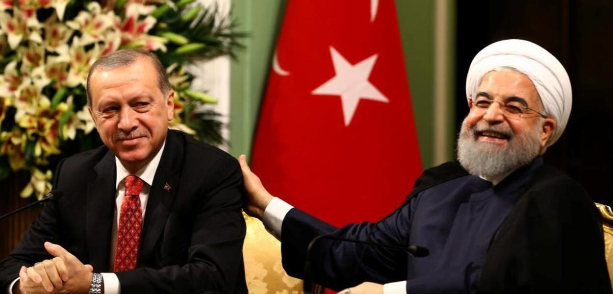 Erdogan e Rouhani