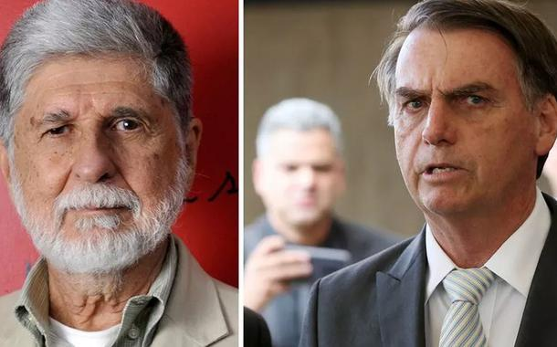 Celso Amorim e Jair Bolsonaro