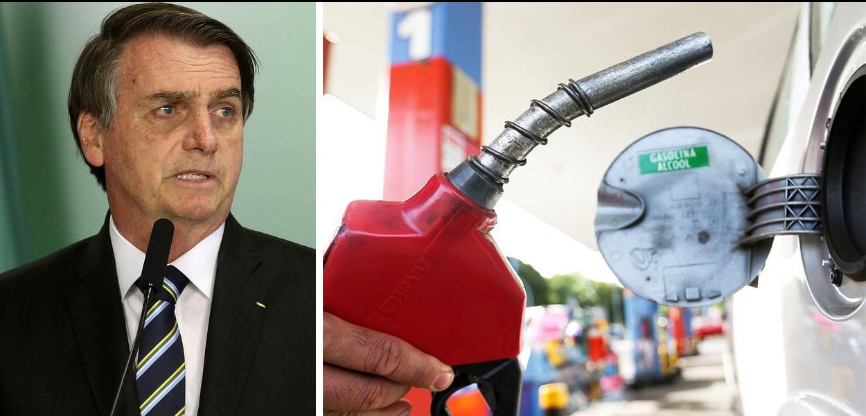"""Bolsonaro sobre combustíveis: """"livre mercado"""""""