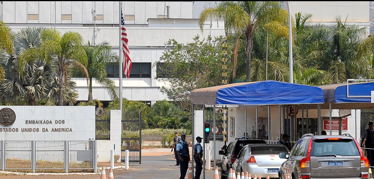Embaixada dos EUA em Brasília, Brasil