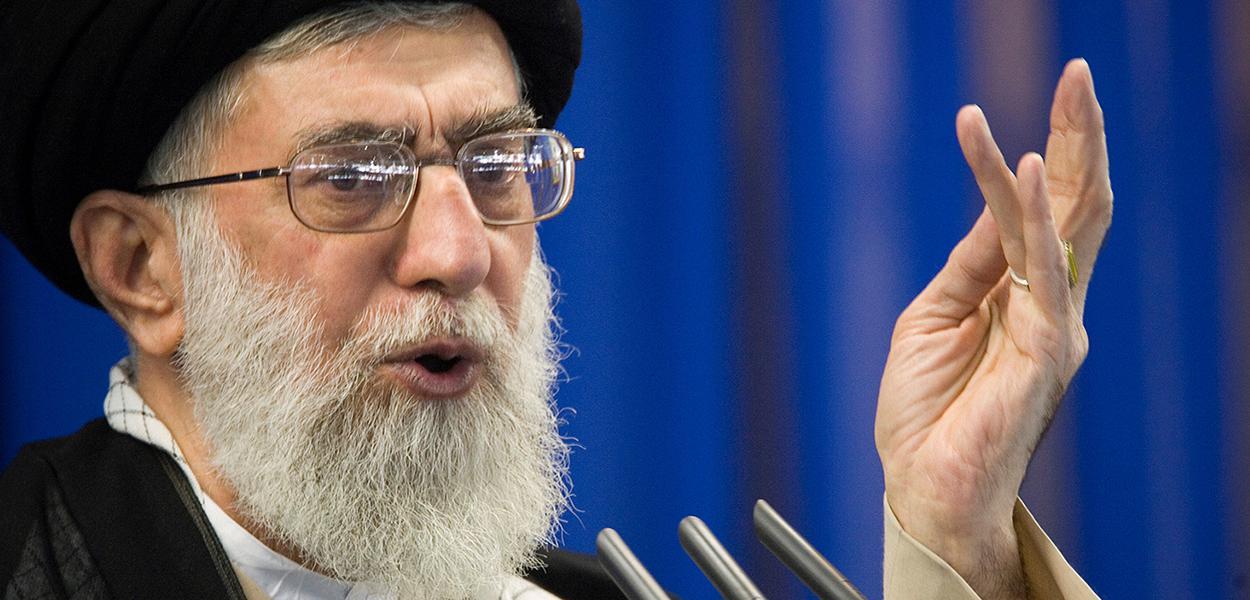 Líder supremo do Irã, aiatolá Ali Khamenei