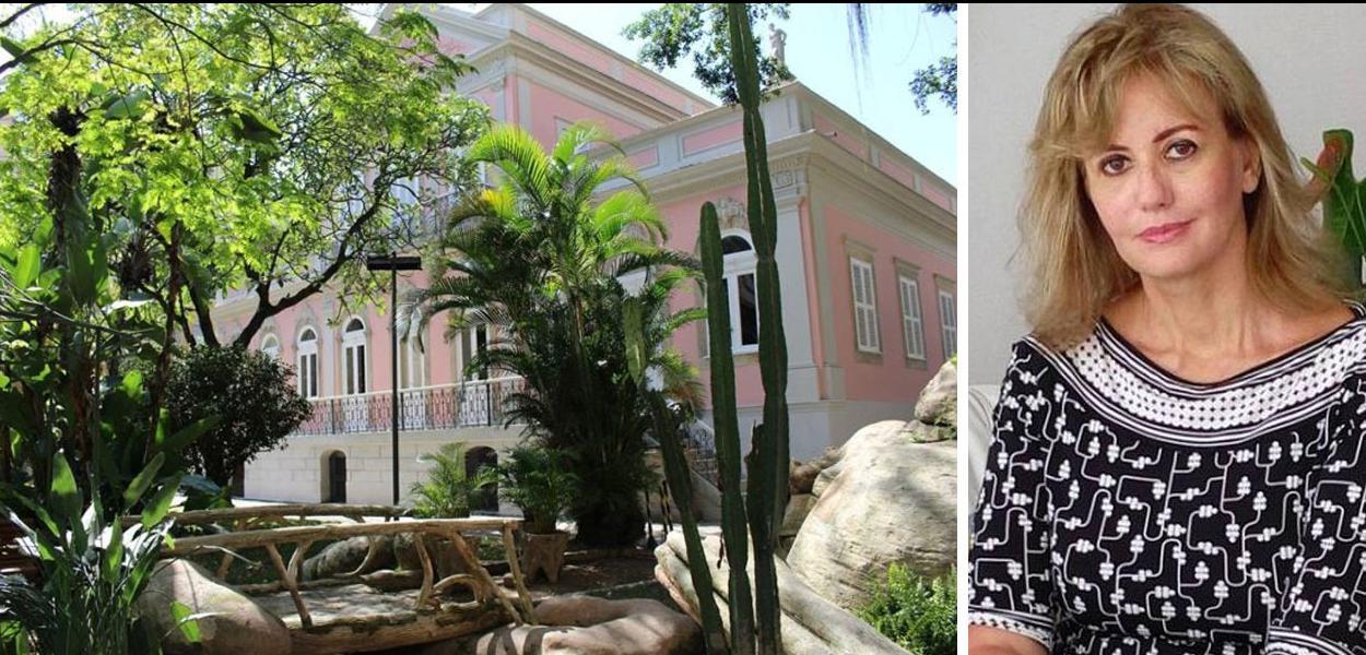 Letícia Dornelles e a Casa de Rui Barbosa.