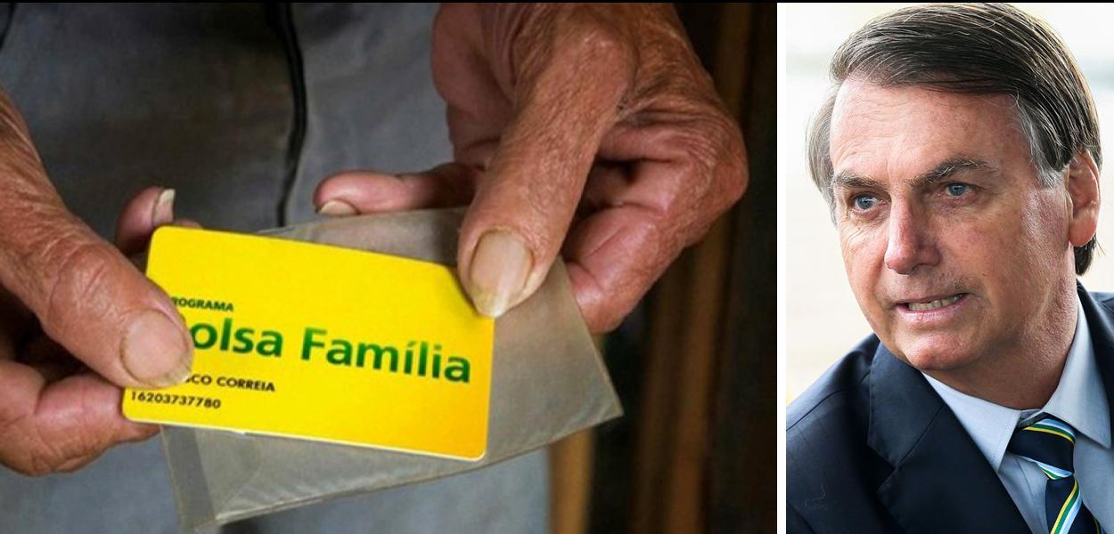 Bolsonaro quer mexer no Bolsa Família.