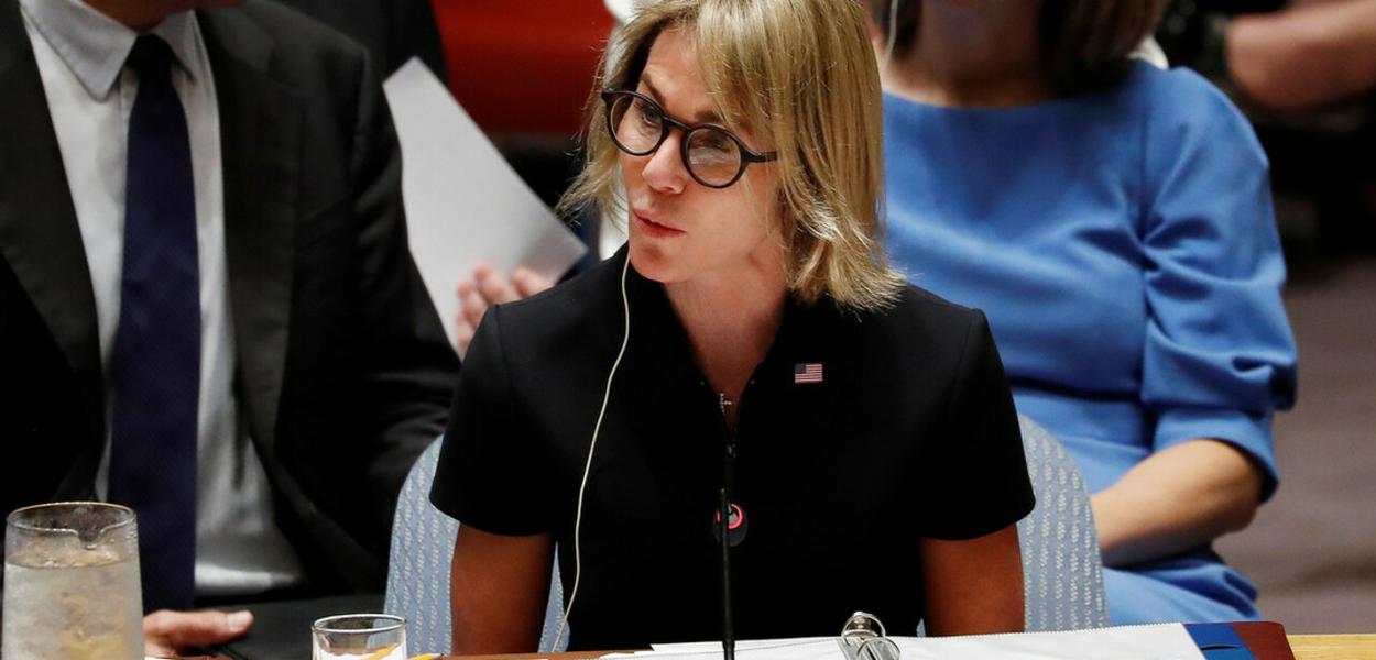 Kelly Craft, embaixadora dos EUA na ONU