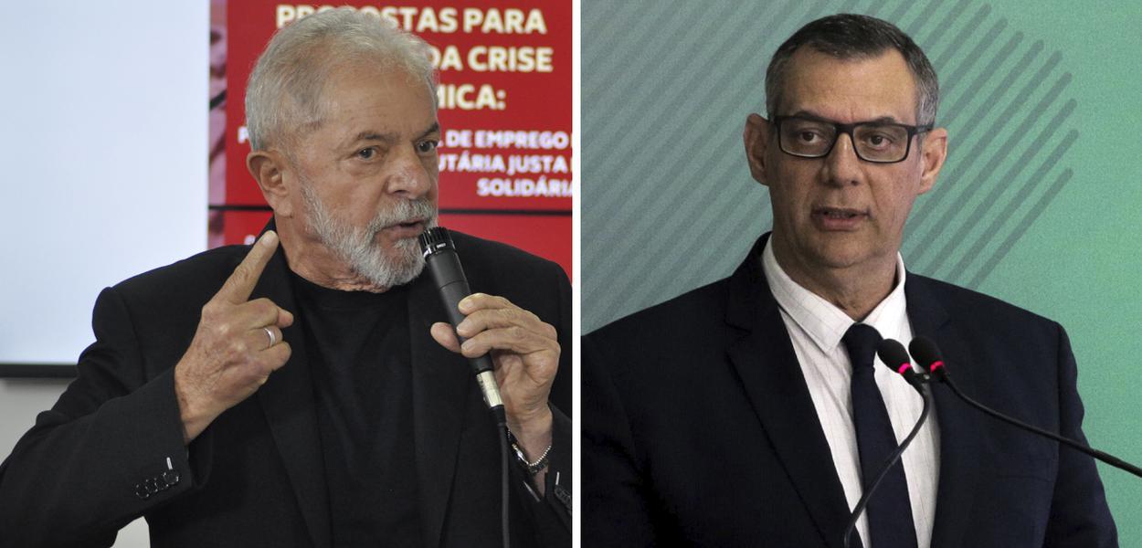 Lula e Porta-voz da Presidência da República, Otávio Rêgo Barros