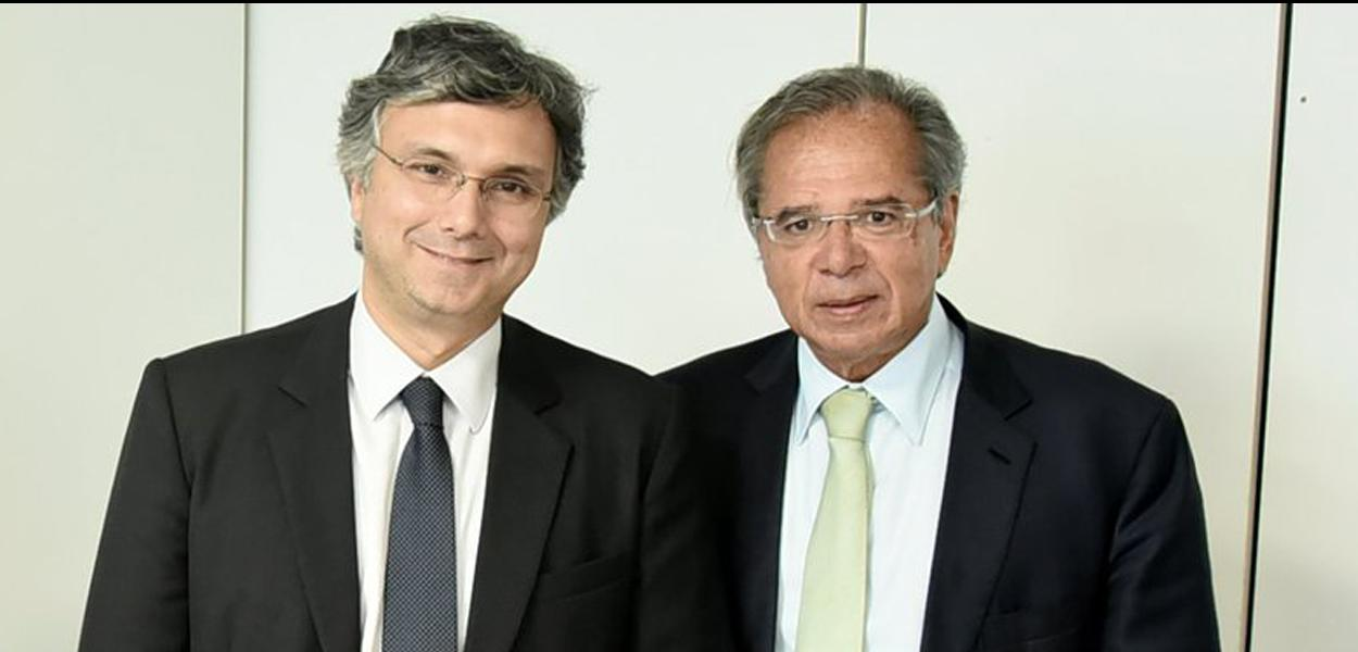 Esteves Colnago e Paulo Guedes