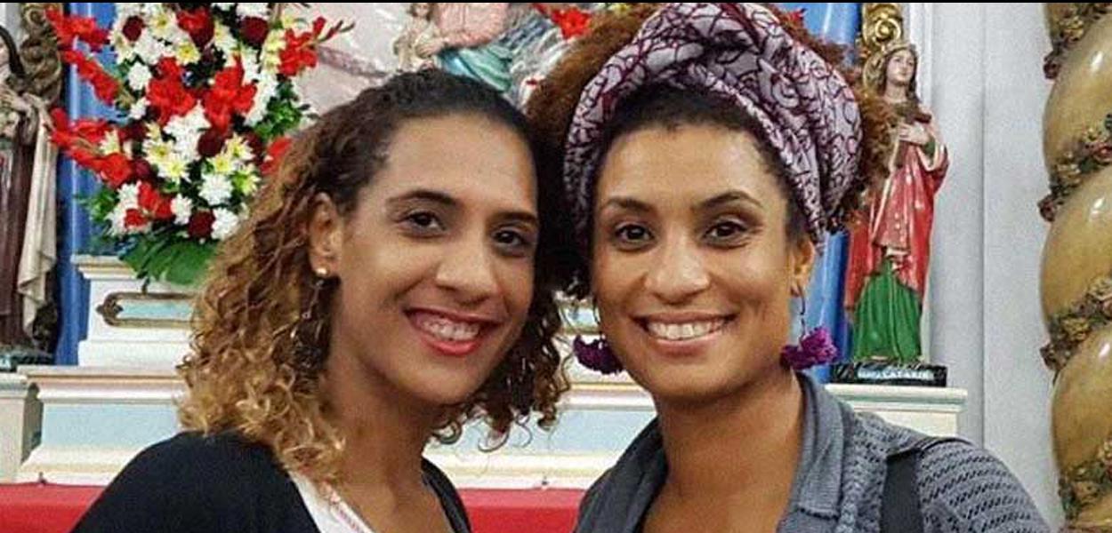 Anielle e Marielle Franco