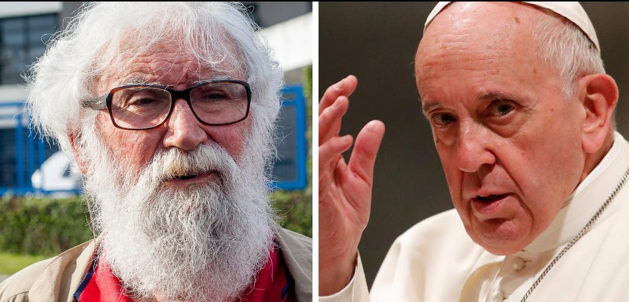 Leonardo Boff e Papa Francisco