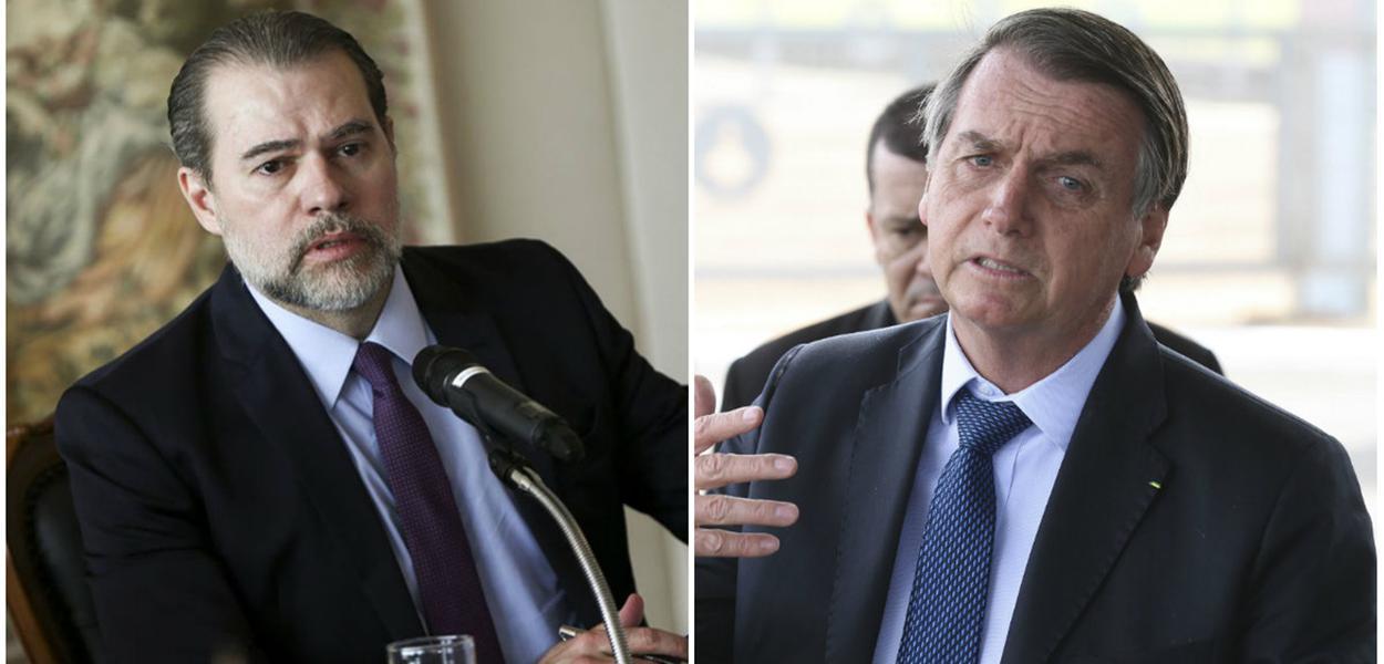 Toffoli passa pano para Bolsonaro.
