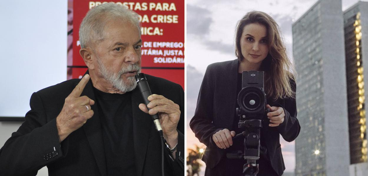 Lula e Petra Costa