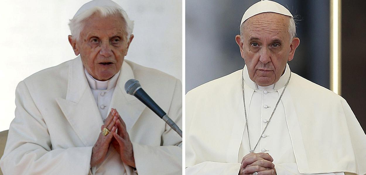 Bento XVI e Papa Francisco