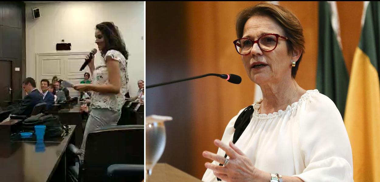 Ministra da Agricultura ouve invertida de aluna da Esalq/USP