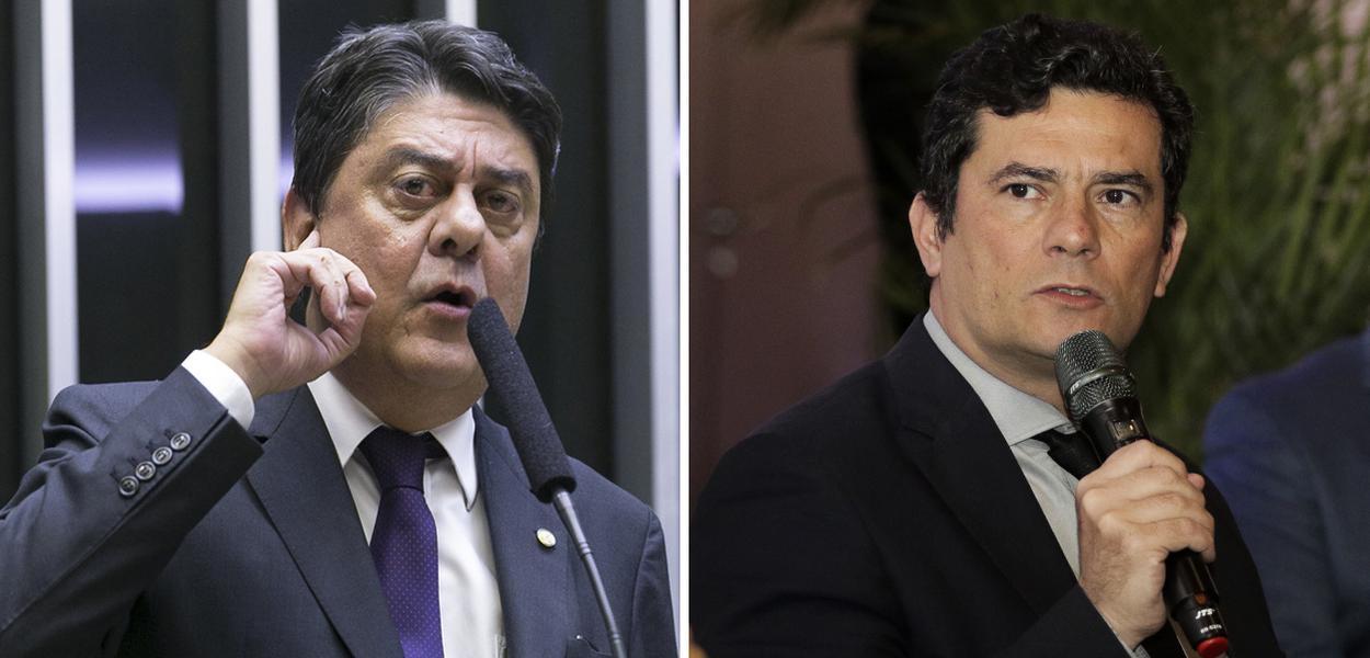 Wadih Damous e Sérgio Moro