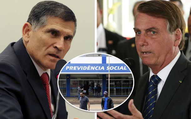 General encara Bolsonaro e diz que não tem cabimento colocar militares no INSS