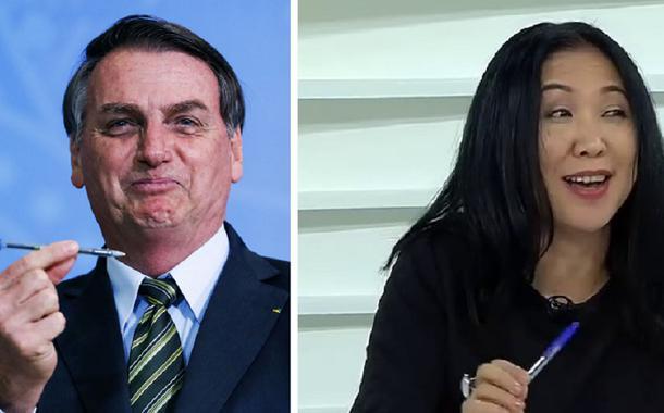 Bolsonaro ataca jornalista e insulta todos os japoneses que vivem no Brasil