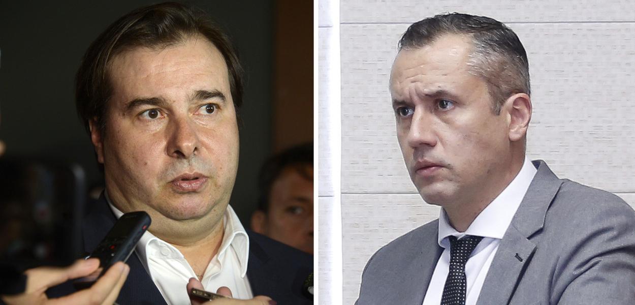 Rodrigo Maia e Roberto Alvim