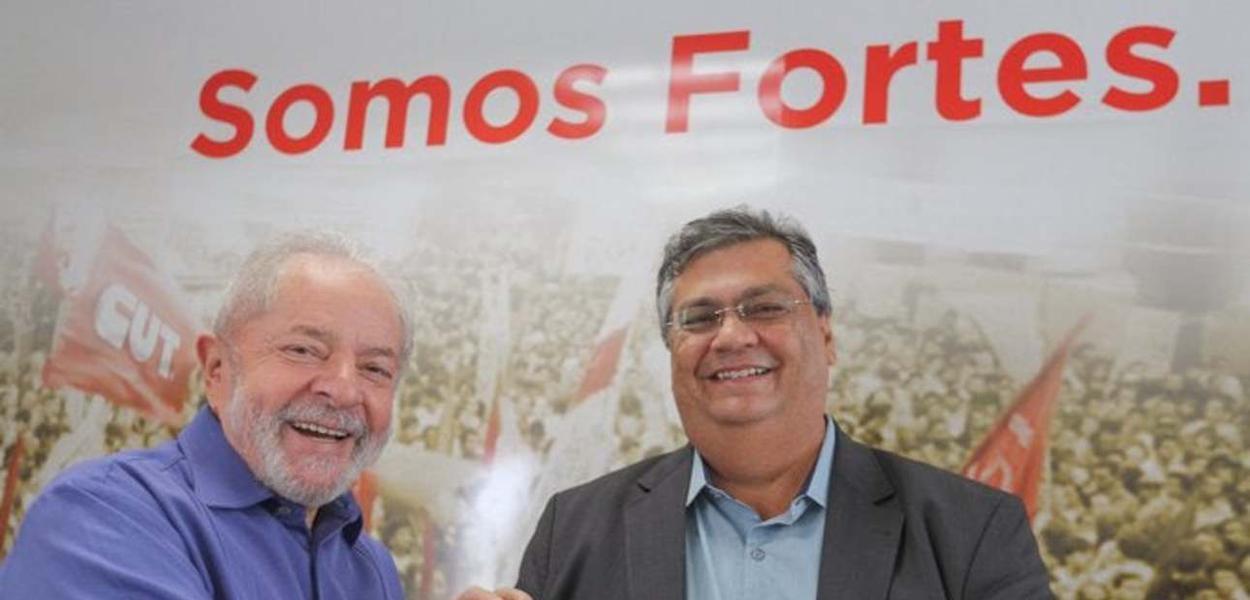 Lula e Flavio Dino