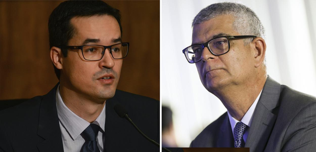 Deltan Dallagnol e Ivan Monteiro