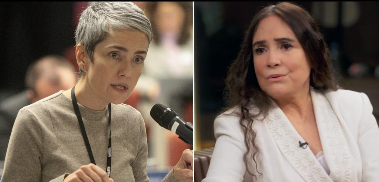 Debora Diniz e Regina Duarte