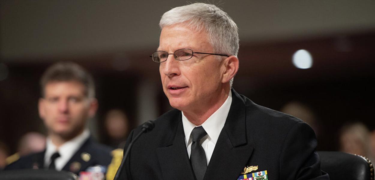 Craig Faller, chefe do Comando Sul dos EUA