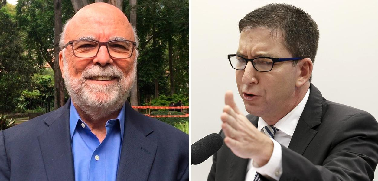 Rosental e Glenn Greenwald