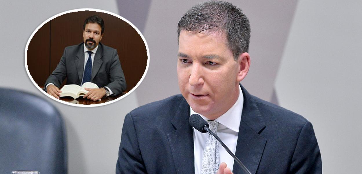 Ricardo Augusto Soares Leite e Glenn Greenwald