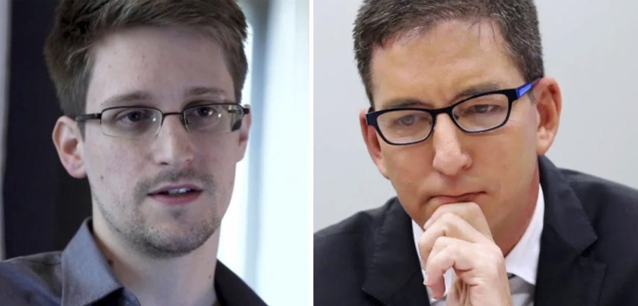 Edward Snowden diz que acusações contra Glenn Greenwald são ameaça ao jornalismo no Brasil.