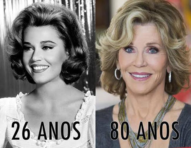 Jane aos 26 anos, Jane aos 80 anos