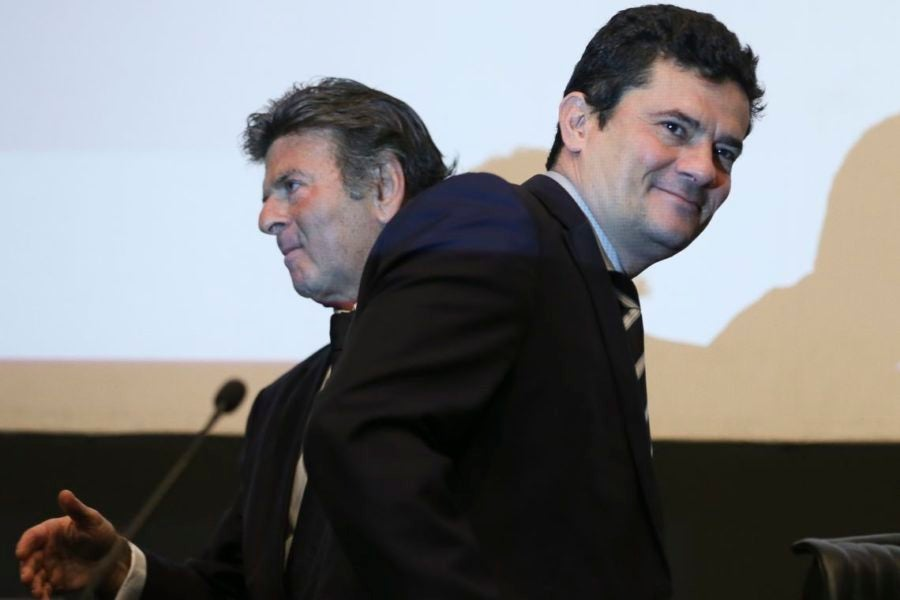 Luiz Fux e Sergio Moro