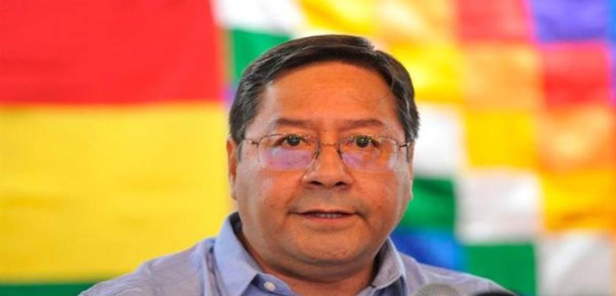 Luís Arce, candidato do MAS à Presidência na Bolívia