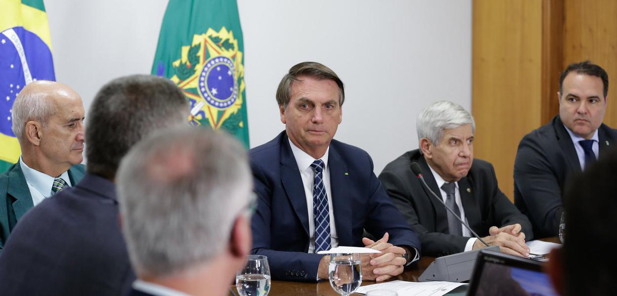 Reunião com secretários estaduais de Segurança sem a presença de Sérgio Moro
