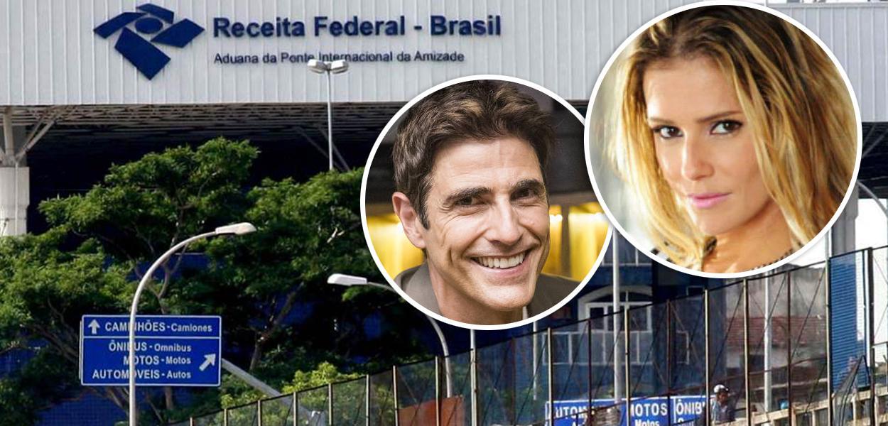 Reynaldo Gianecchini e Deborah Secco foram alvo da Receita Federal