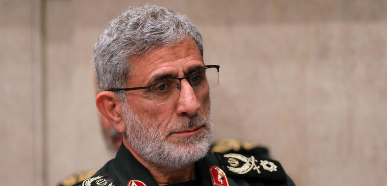 Esmail Qaani, novo comandante da força Quds do Irã