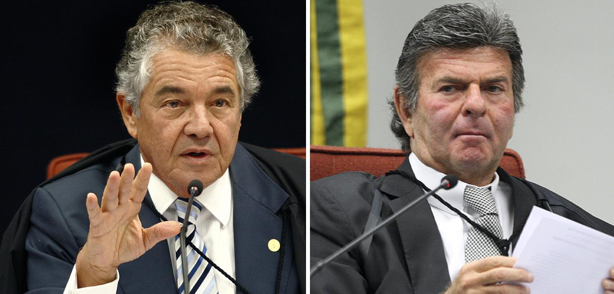Marco Aurélio Mello e Luiz Fux