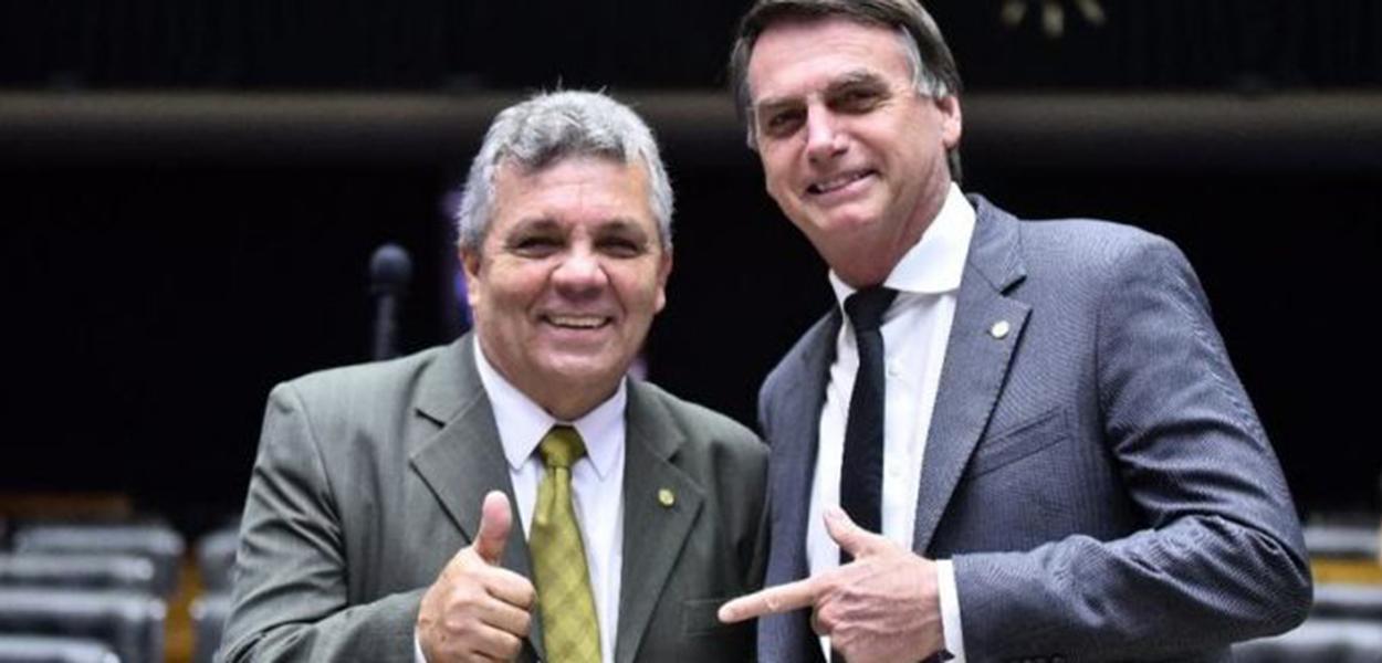Alberto Fraga e Jair Bolsonaro